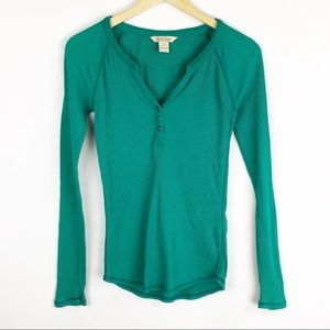Lucky Brand | Small | Celine Henley Thermal Tee